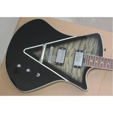 Custom Shop Music Man Gray Trans Armada Ernie Ball Guitar