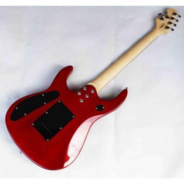 Custom Shop Music Man Ernie Ball Quilted Maple Red Guitar JP15