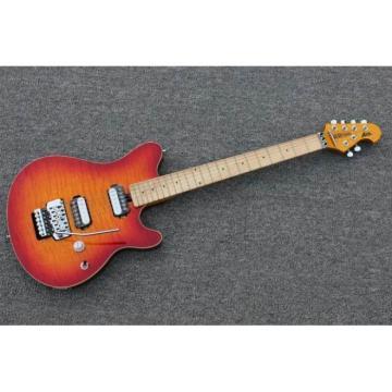Custom Shop Music Man Ernie Ball Custom Sunburst 6 String Guitar Axis