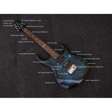 Custom Music Man John Petrucci Ernie Ball JP6 Ocean Blue Guitar
