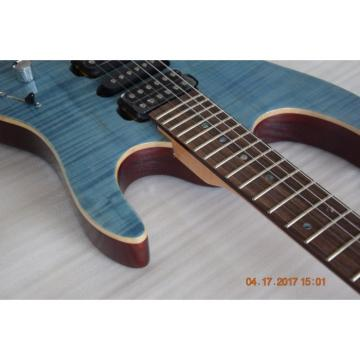 Custom Build Suhr Blue Tiger Maple Top 6 String Electric Guitar