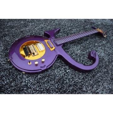 Custom Left/Right Handed Option Prince 6 String Love Purple Seymour Duncan Guitar
