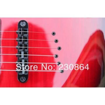 Custom Washburn Cherry Burst Passive Humbucker Pickups Guitar