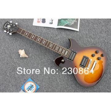 Custom  Washburn Passive Humbuckers Light Tobacco Guitar