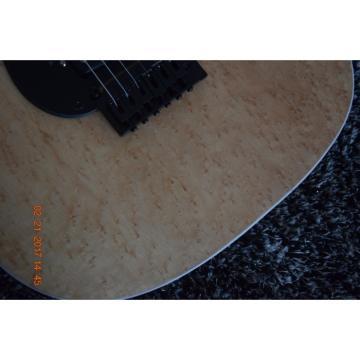 Custom Shop Schecter Birdseye Body and Neck Natural Finish Guitar