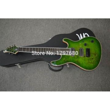 Custom Built Regius 7 String Transparent Green Mayones Guitar Japan Parts