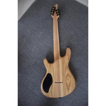 Custom Built Setius GTM 7 Gothic Figured Red and Black Ash Top Mayones Guitar Katatonia