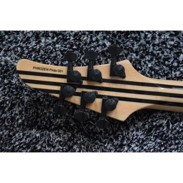 Custom Built Regius 7 String Gray Finish Mayones Guitar
