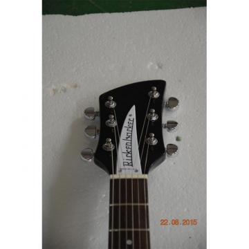 Custom Shop Rickenbacker 360 Black Guitar