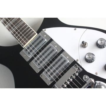 Custom Shop Rickenbacker 330 Black 3 Pickups Guitar
