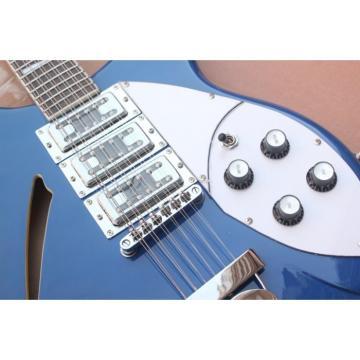 Custom Shop Rickenbacker Blue 360 Guitar