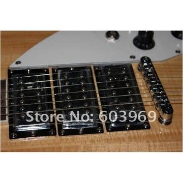Custom Shop Rickenbacker 330 Natural Wood Guitar
