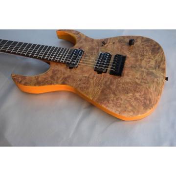 Custom Built Regius 7 String Birds Eye Finish Duvell Bolt On Mayones Guitar