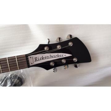 Custom Shop Rickenbacker 325C64 21 Inch Scale Length Jetglo Black Guitar
