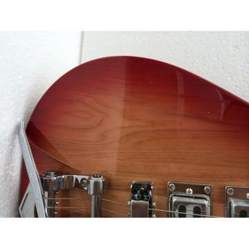 Custom Shop Rickenbacker 325C64 21 Inch Scale Length Fireglo Guitar