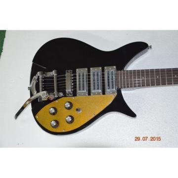 Custom Shop Rickenbacker 325 Jetglo John Lennon Gold Pick Guard Guitar