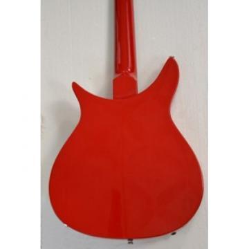 Custom Shop Rickenbacker 325 John Lennon Red Orange Guitar