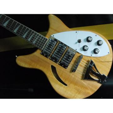 Custom Shop Natural Rickenbacker 330 12 Strings 3 Pickups Guitar