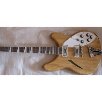 Custom Rickenbacker 360 Natural Mono and Stereo Guitar