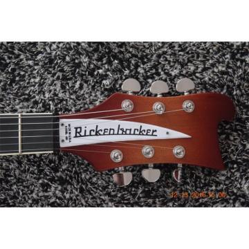 Custom Rickenbacker 480 6 String Fireglo Guitar