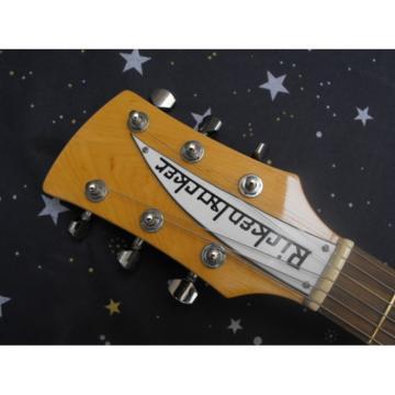 Custom 3 Pickups Rickenbacker 381 V69 Natural Guitar