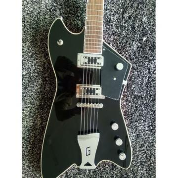 Custom Gretsch G6199 Billy-Bo Jupiter Thunderbird Black Red Authorized Bridge Guitar