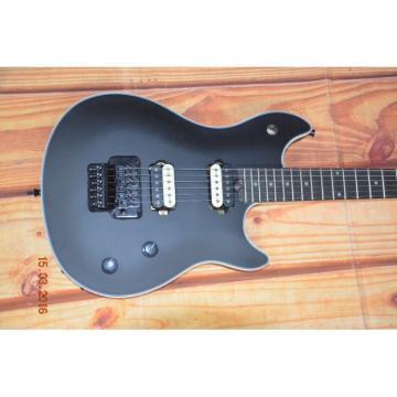 Custom Shop EVH Wolfgang Matte Black Floyd Rose Vibrato Electric Guitar