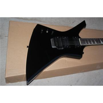 Custom Shop Korina ESP James Hetfield Black Explorer Guitar