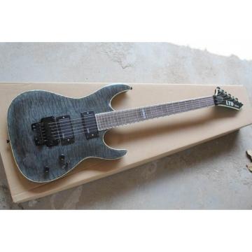 Custom Shop Fire Hawk ESP LTD Gray Electric Guitar