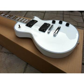 Custom Shop ESP Eclipse White Electric guitar