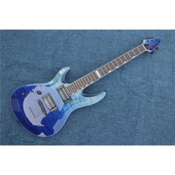 Custom Shop Blue Veneer Quilted Maple Top Electric Guitar