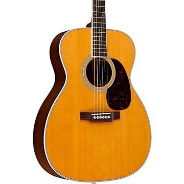 Martin Standard Series M-36 Slim Body Acoustic-Electric Guitar Natural Fishman Ellipse Matrix Blend Electronics