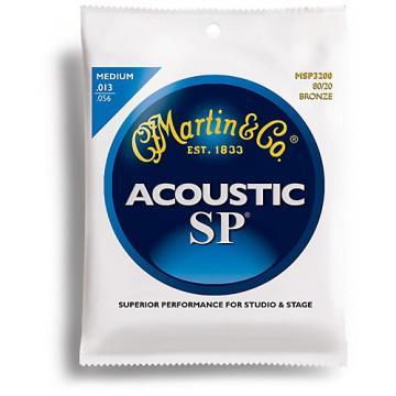Martin MSP3200 SP 80/20 Bronze Medium Acoustic Guitar Strings