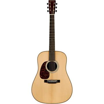 Martin Authentic Series 1937 D-28 VTS Dreadnought Left-Handed Acoustic Guitar Natural