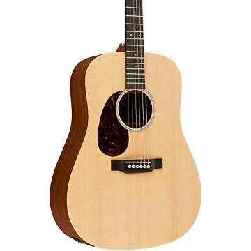 Martin X Series DX1AE-L Dreadnought Left-Handed Acoustic-Electric Guitar Natural