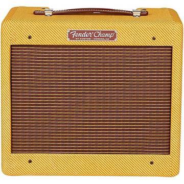 Fender '57 Custom Champ 5W 1x8 Tube Guitar Amp Lacquered Tweed