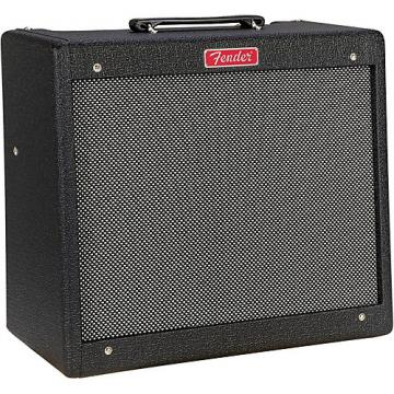 Fender Limited Edtion Blues Jr 15W 1x12 Tube Combo Amplifier Black Nubtex