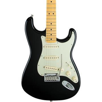 Fender Artist Series The Edge Strat Maple Fingerboard Electric Guitar Black