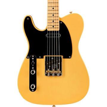Fender American Vintage '52 Telecaster Left Handed Electric Guitar Butterscotch Blonde Maple Neck