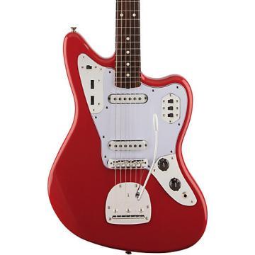 Fender Classic '60s Jaguar Lacquer Rosewood Fingerboard Electric Guitar Fiesta Red