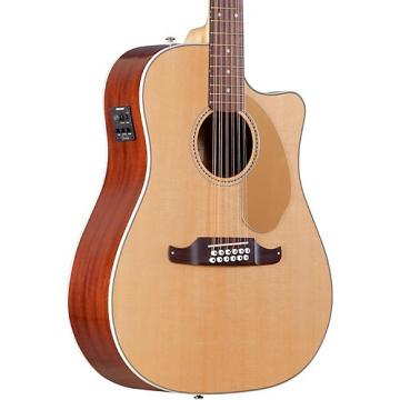 Fender California Series Villager SCE Cutaway Dreadnought 12-String Acoustic-Electric Guitar Natural