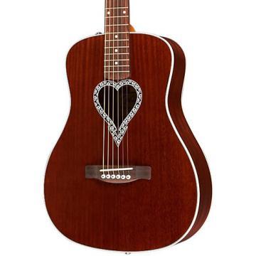 Fender Artist Design Series Alkaline Trio Malibu Mahogany Dreadnought Acoustic Guitar Natural