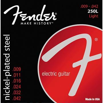 Fender 250L Super 250 Nickel-Plated Steel Electric Guitar Strings - Light