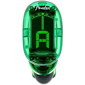 Fender 1620 California Series Clip-On Tuner Green