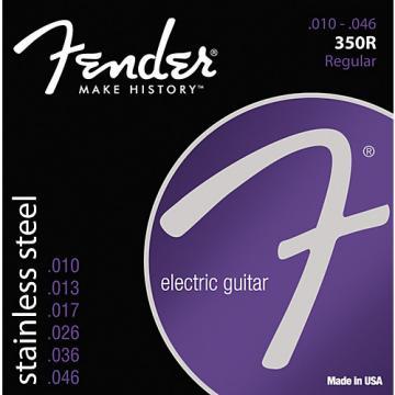 Fender 350R Stainless Steel Electric Guitar Strings