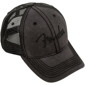 Fender Blackout Trucker Hat