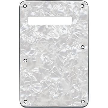 Fender Stratocaster Back Plate Tremolo Cavity Cover Pearl White