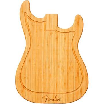 Fender Stratocaster Bamboo Cutting Board