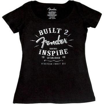 Fender Ladies Inspire T-Shirt Small Black