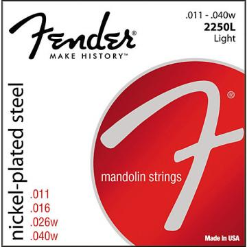 Fender Nickel-Plated Steel Mandolin Strings - Light